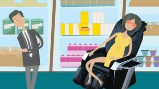 Massage Chair animated commercial